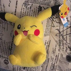 NWT Pikachu Plush
